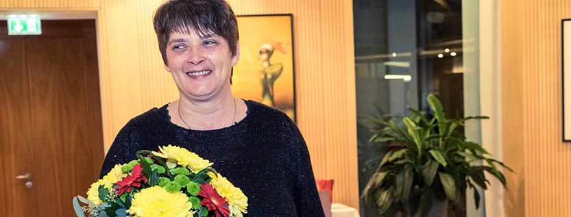 Demokratiepreis Susanne Fürstenau (Foto: Stefan Escher)